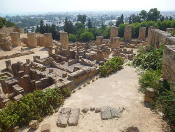 Archaeological site of Carthage, city established by the Phoenicians. (Eric00000007 / CC BY-SA 3.0)