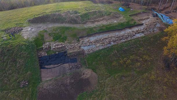 Archaeological site at Maszkowice (CC by SA 4.0 / Maszko78)