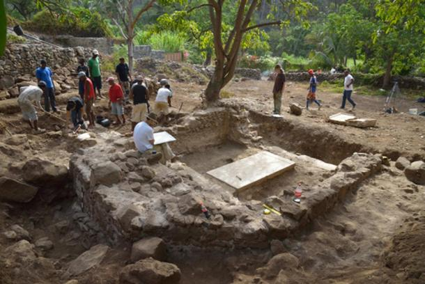 Archaeologists have been digging in Cidade Velha since 2007.