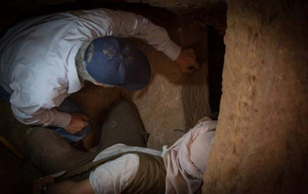 Archaeologists open a tomb that has remained sealed for 4,000 years.