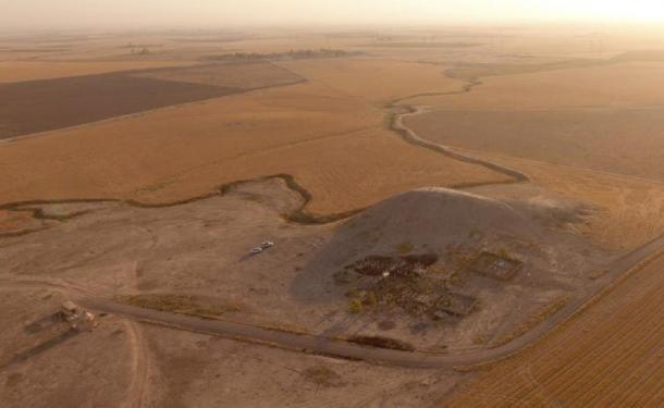 Archaeologists increasingly use technology to understand how sites fit into their environment and to document sites at risk. Here, a drone captured a tell (a mound indicating build-up of ancient settlements) in the Kurdistan Region of Iraq. Jason Ur, CC BY-ND / The Conversation