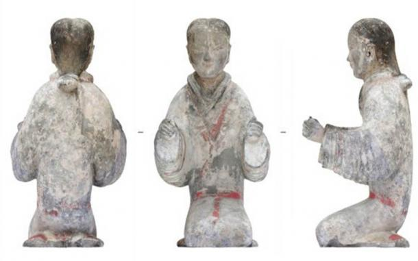 Archaeologists have found hoards of objects including ceramic figurines and jade clothing in an exciting discovery of Han period tombs. (Xi'an Institute of Cultural Relics and Archaeology / People's Daily China)