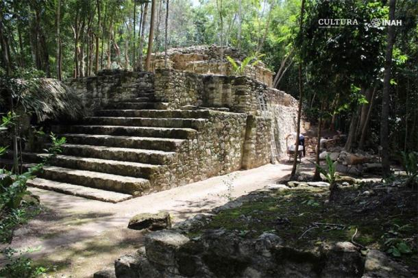 Archaeologists consider this one of the more significant structures at the site. (María José Con Uribe)