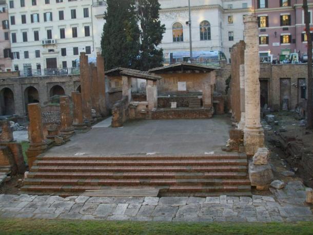 Area Sacra - Temple A