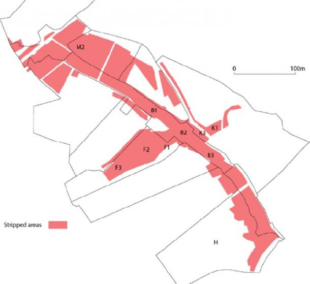 Areas of Holy Island were mapped and the features recorded and described. (Gwynedd Archaeological Trust)