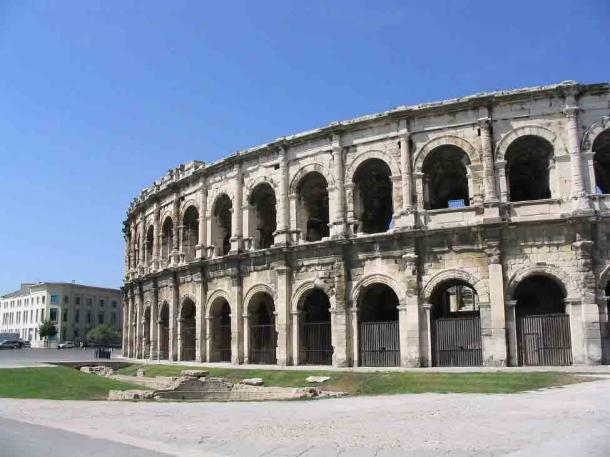 The Arena of Nimes which is among the best-known Roman amphitheaters not in Italy. (Andim / CC BY-SA 3.0)