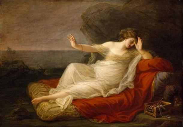 'Ariadne Abandoned by Theseus' (1774) by Angelica Kauffman.