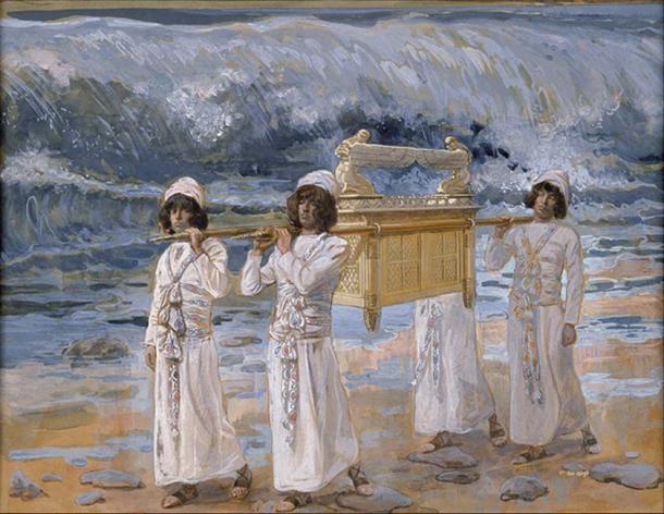 'The Ark Passes Over the Jordan'