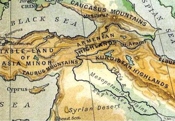 Armenian Highlands, Historical Atlas