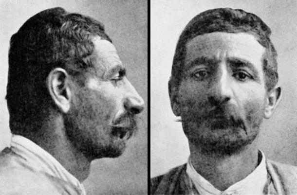Armenoid Armenian from Kessab, Jebel Akrah. Classified as such in The Races of Europe: A Sociological Study by William Zebina Ripley.