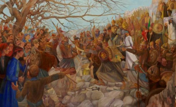 Arrest of Babek Khorramdin (c.a. 800 AD), 2009 Tehran