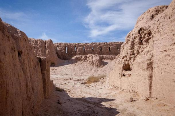 Arrow slits at Ayaz Kala fortress. (AnyaNewrcha /Adobe Stock)