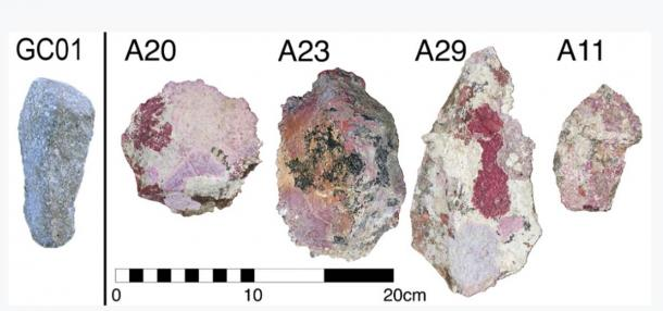 Artifacts located at the investigation site (Image: PLOS ONE)
