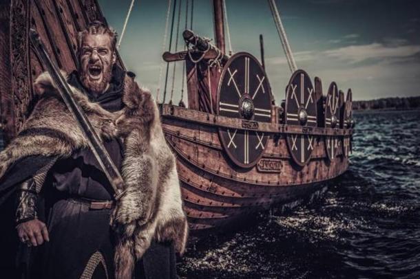 Artist's depiction of Ragnar Lothbrok