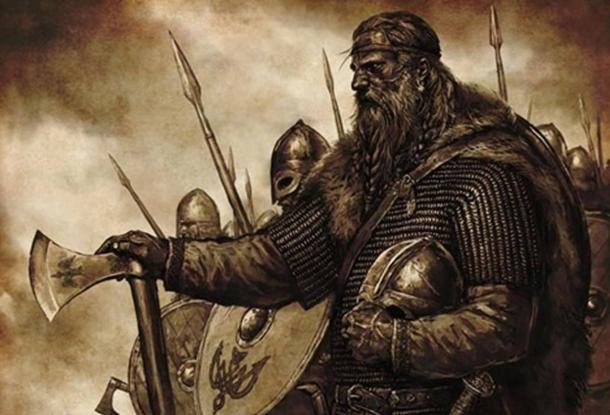 Artist's depiction of a Vikings