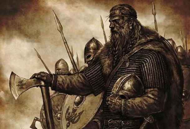 Artist's depiction of a Viking King.