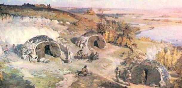 Artists impression of the settlement at Mysinskaya parking. (Image: Yuriy Yezhakevich