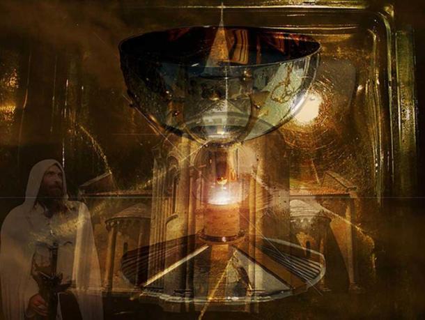 Artist's interpretation of the holy grail.