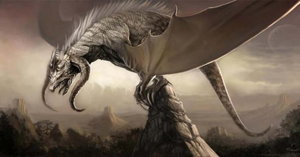 Artwork of a dragon for the Durian-Project of the Blender Foundation.