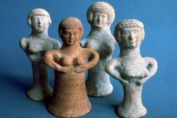 Asherah figurines