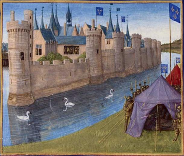 Assassination of Sigebert by Jean Fouquet