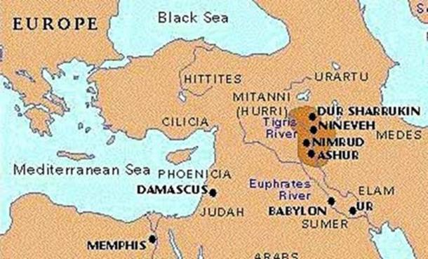 The Powerful Assyrians, Rulers of Empires | Ancient Origins