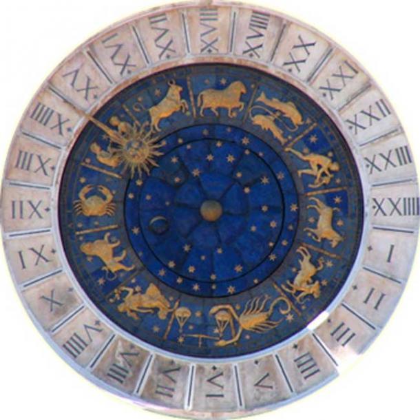 Astrological clock at Venice