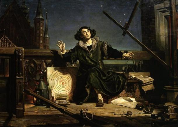 'Astronomer Copernicus, conversation with God' (1872) by Jan Matejko