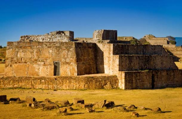 Astronomical Observatory ruins at Monte Alban