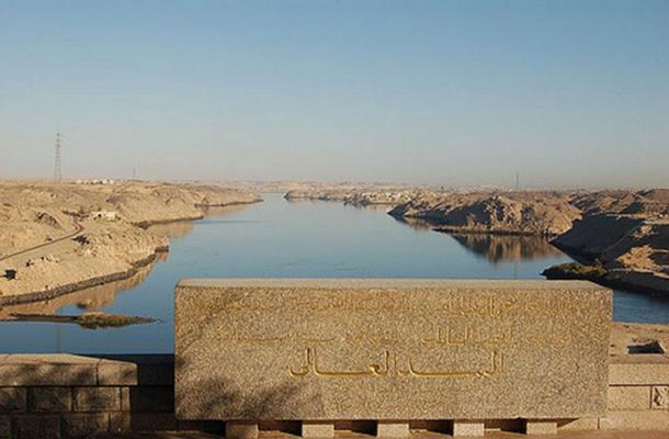 A view of Aswan High Dam