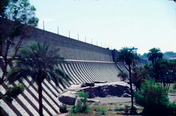 Aswan High Dam, 1983.