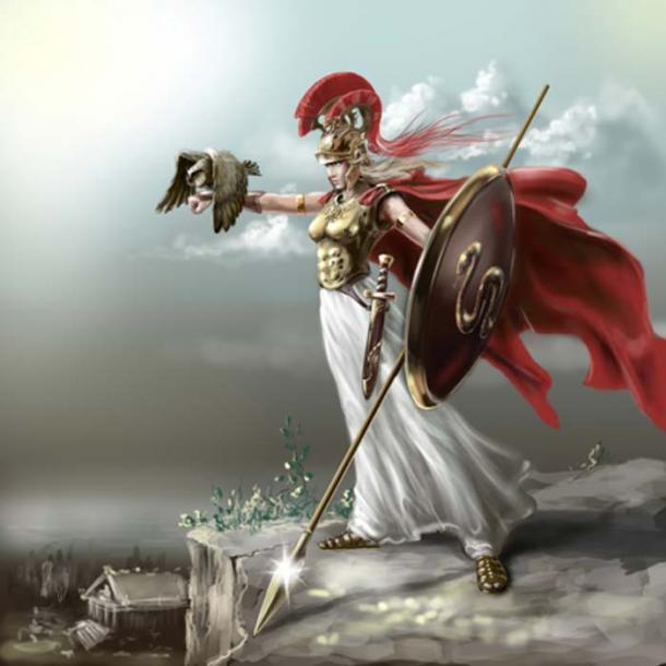 Athena. (Геннадий Кучин /Adobe Stock)