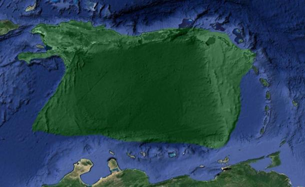 "he ""Atlantic island"" in the Caribbean."