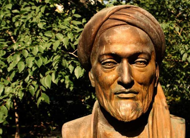Avicenna - Ibn Sina sculpture in a park in Tehran. (CC BY 2.0)