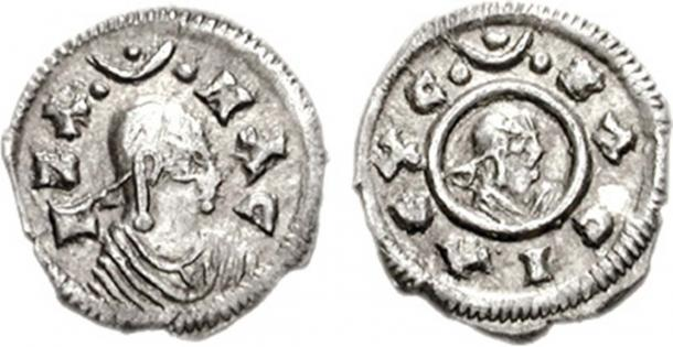 Coin of the Axumite king Ezana