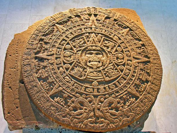 Aztec Calendar  - Sun Stone