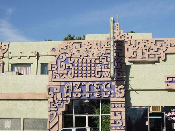 Mayan Inspired 'Aztec Hotel' by Robert Stacy-Judd