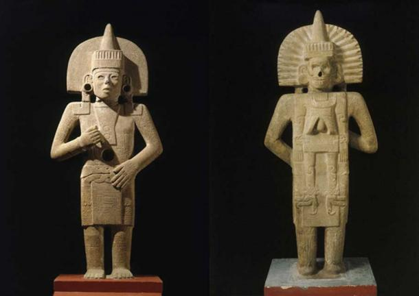 An Aztec Life-Death figure of the 900 to 1250 AD era