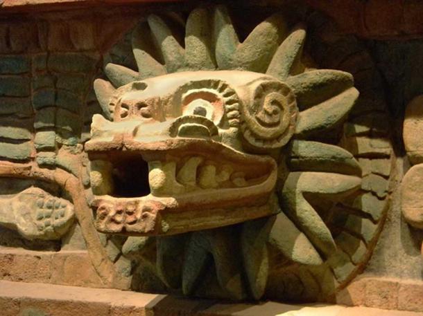 Aztec god and twin of Xolotl, Quetzalcoatl at Teotihuacan. (CC0)