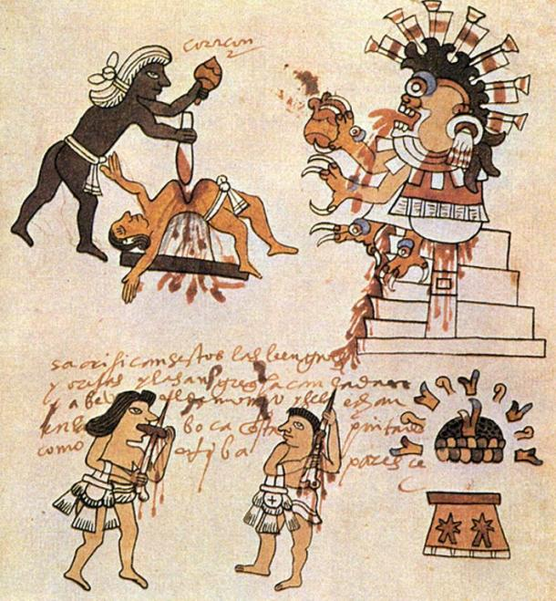 Aztec sacrifice rituals