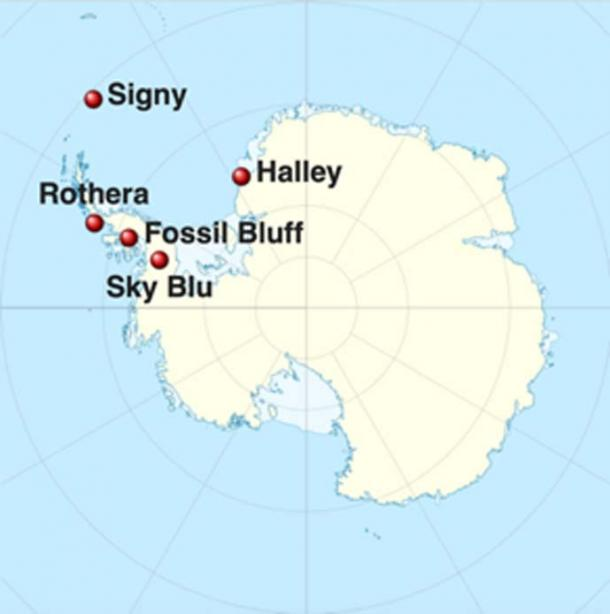 BAS, the team studying the frozen lifeforms, research stations in the British Antarctic Territory. (Ravenpuff / CC BY-SA 3.0)