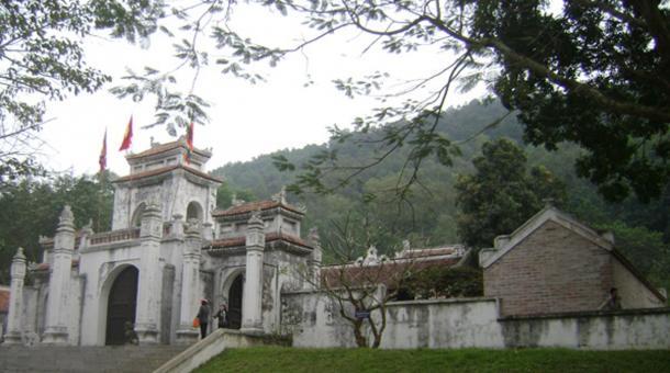 The Bà Triệu temple, Thanh Hóa province, Vietnam.