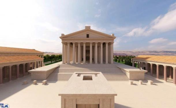 Baalbek Reborn: Temples uses advanced digital technology and 3D image modelling, based on archaeological expertise and excavations to create the animated virtual tour of Baalbek