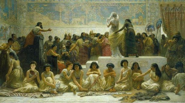 The Babylonian Marriage Market by Edwin Long