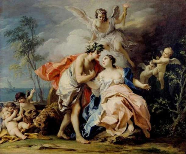 'Bacchus and Ariadne' (c. 1740-1742) by Jacopo Amigoni.