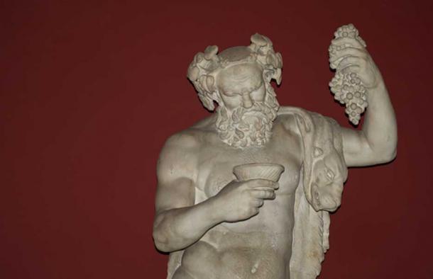 Bacchus (Dionysus), Vatican Museums.
