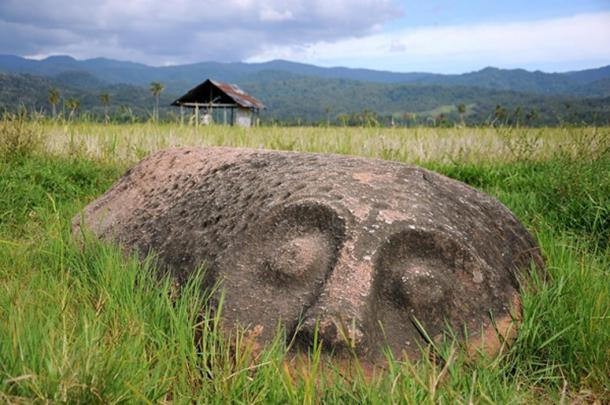 Another megalith in the Bada Valley.