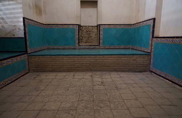 Bagh-e Fin Garden, hamman/bathhouse.