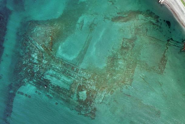 Baia was a resort for the rich which was lost to the water 1700 years ago.