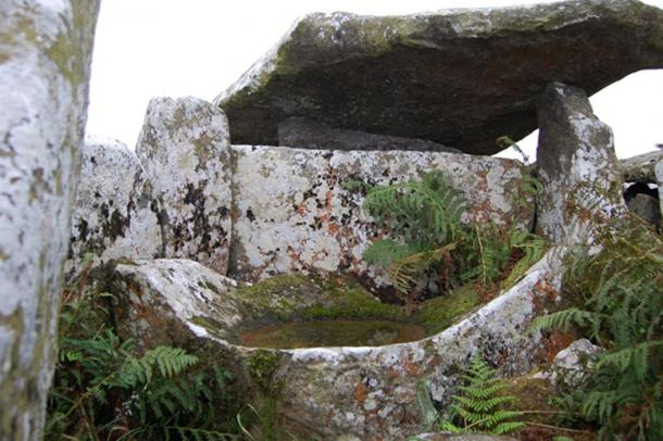 Stones at Baltinglass Hill.